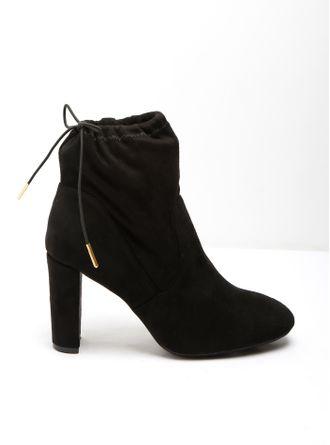 Zapatos negros con cremallera formales para mujer NTwxUOMW