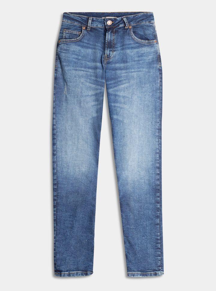 Jeans Regular Desgaste 28