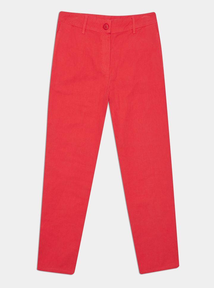 Pantalón Regular Fit Rojo 4