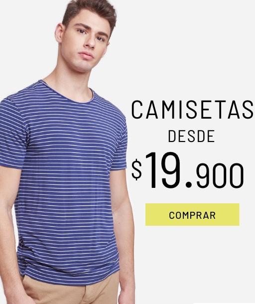 Banner Camisetas - Sale - Hombre Desktop
