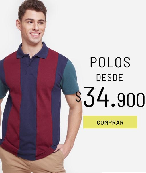 Banner Polos - Sale - Hombre Desktop