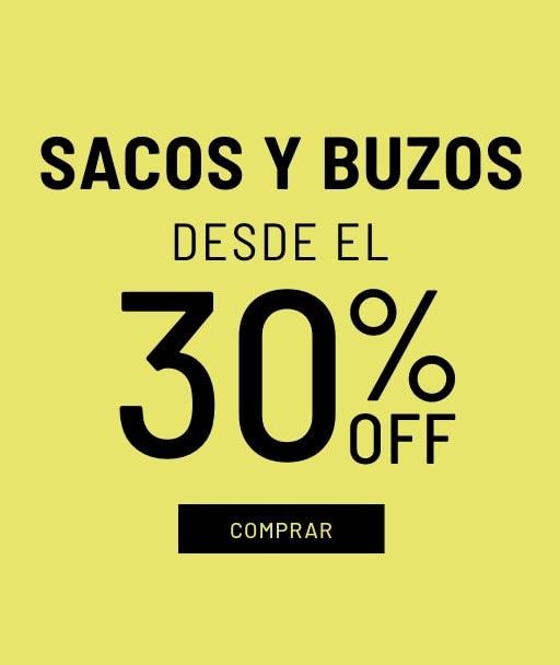 Banner Sacos y Buzos - Sale - Hombre Desktop