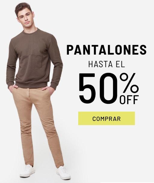 Banner Pantalones - Sale - Hombre Desktop