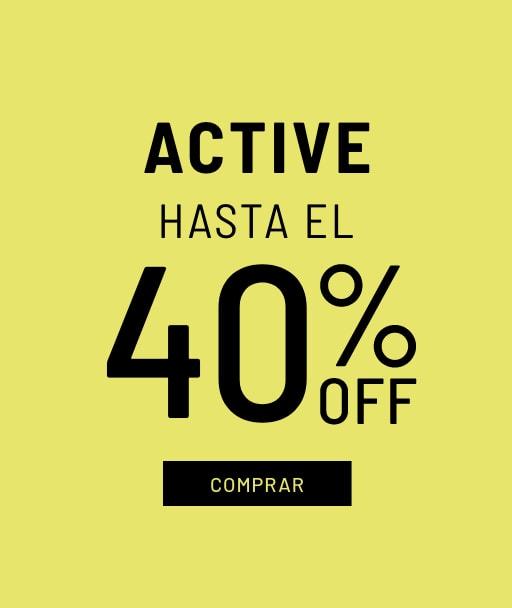 Banner Active - Sale - Hombre Desktop