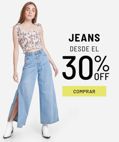 Banner Jeans - Sale - Mujer Mobile