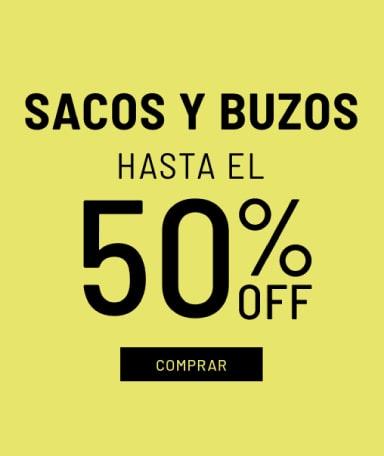 Banner Sacos y Buzos - Sale - Mujer Mobile