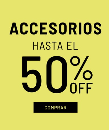 Banner Accesorios - Sale - Mujer Mobile