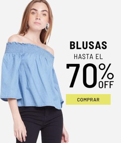 Banner Blusas - Sale - Mujer Mobile