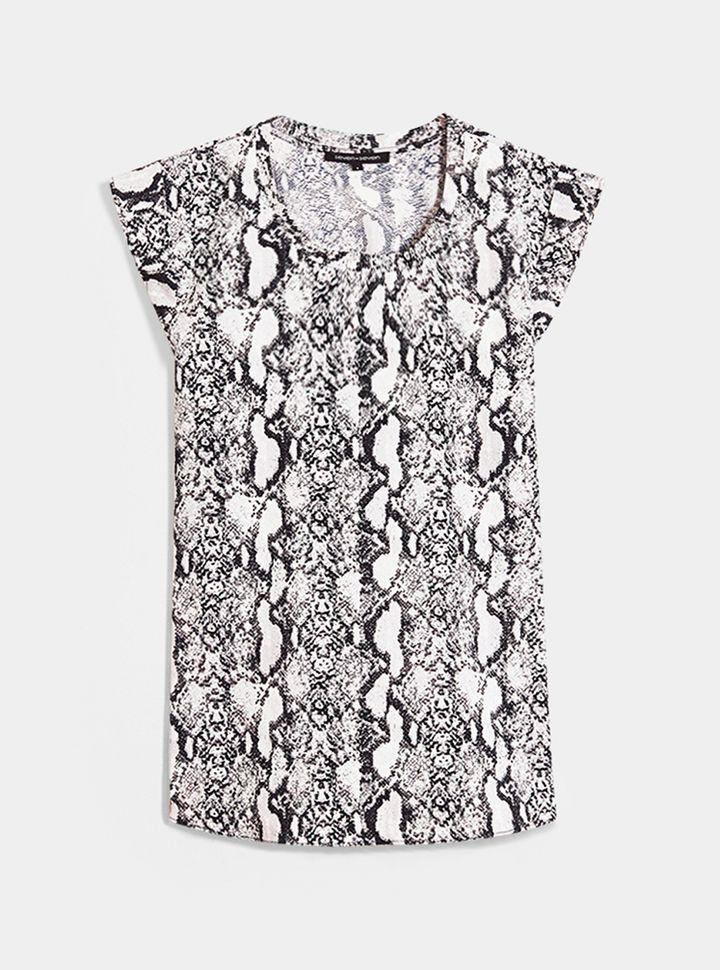 Blusa Estampado Reptil-XS