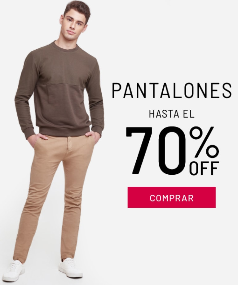 Pantalones Hasta 70% Dcto