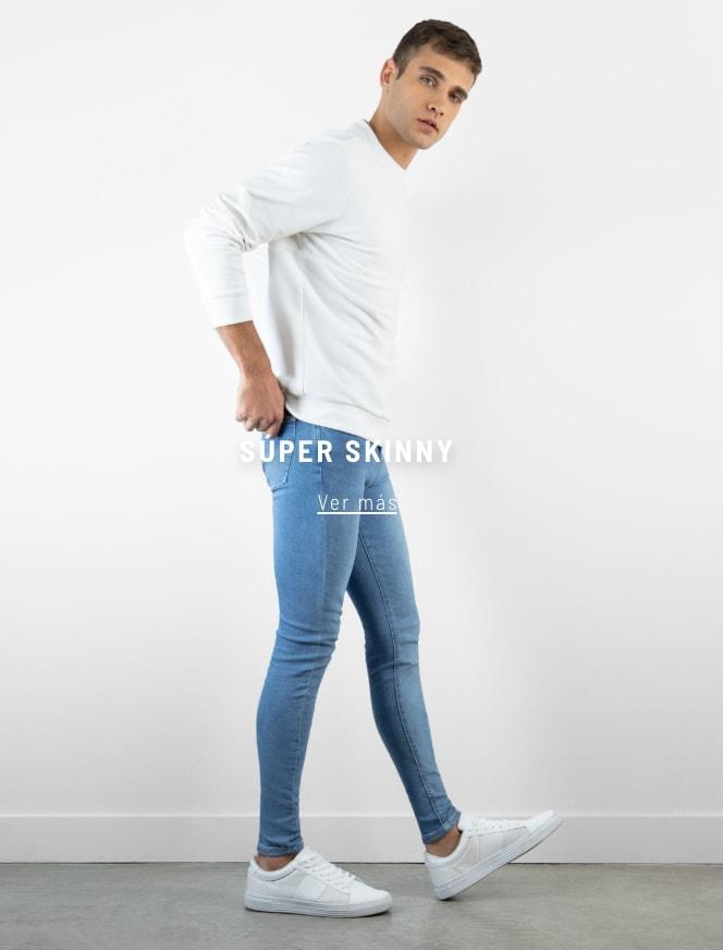Banner - Denim Super Skinny - Hombre mobile