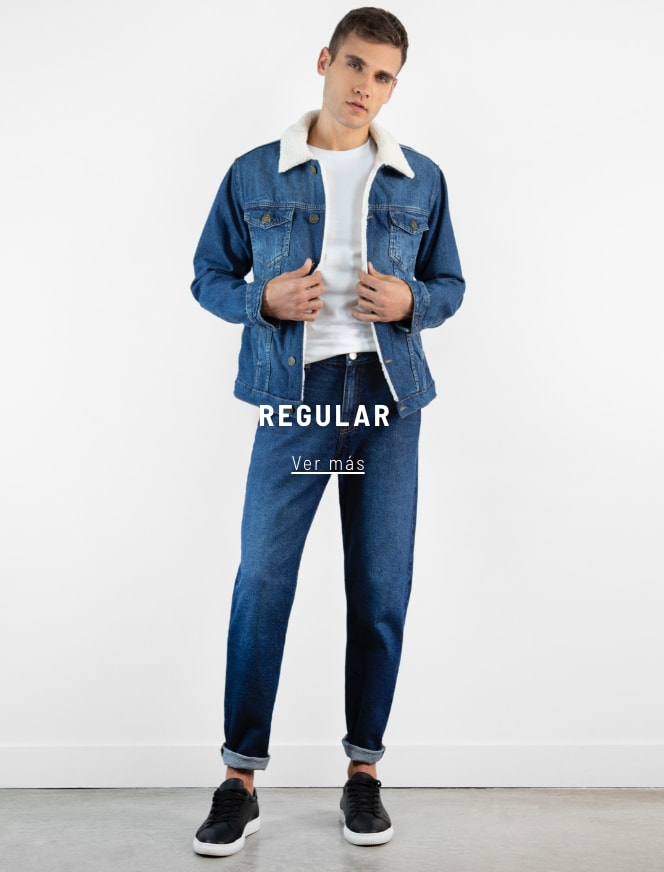 Banner  - Denim Regular - Hombre mobile