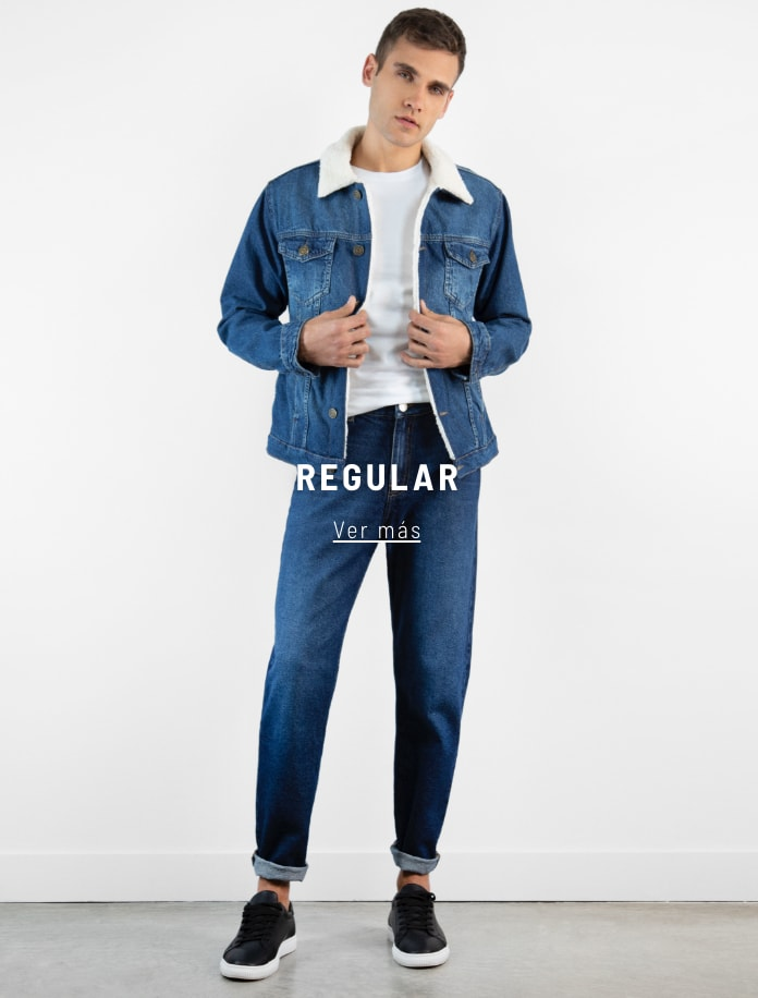 Banner  - Denim Regular - Hombre desktop