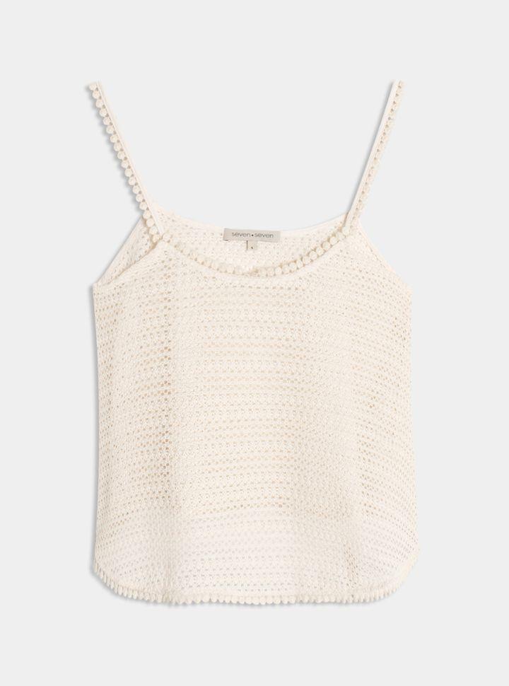 Blusa Crop Textura-L