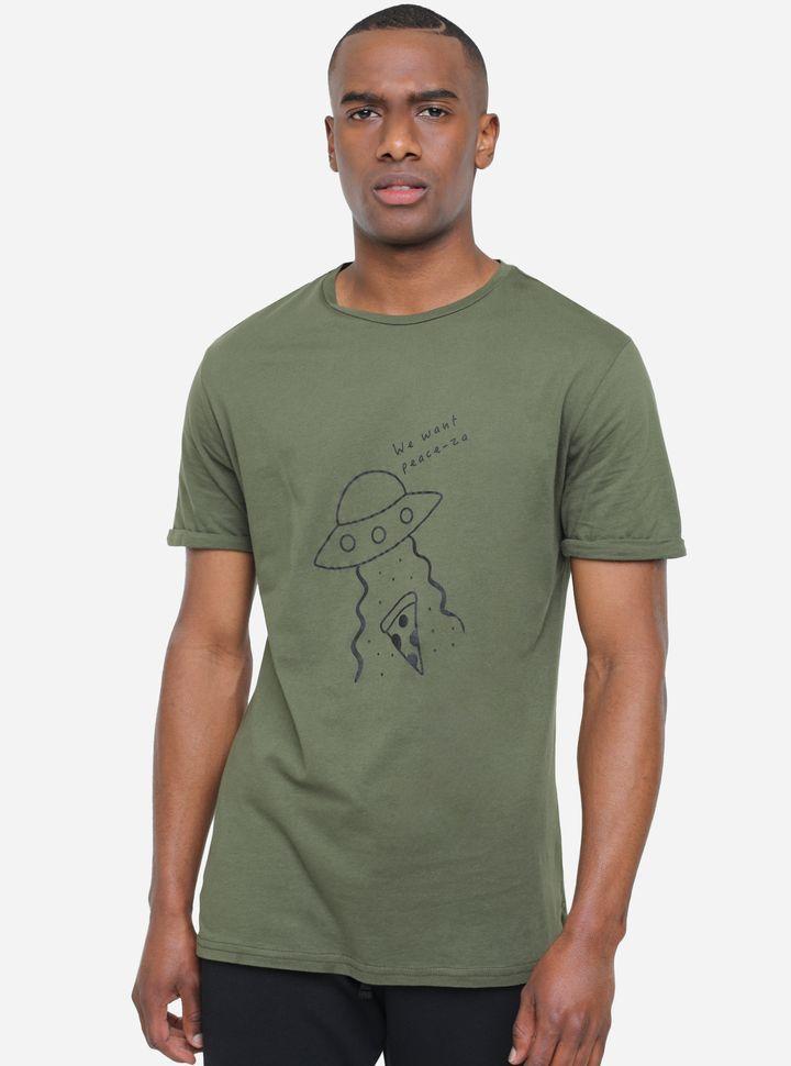 Camiseta Estampado Alien-L