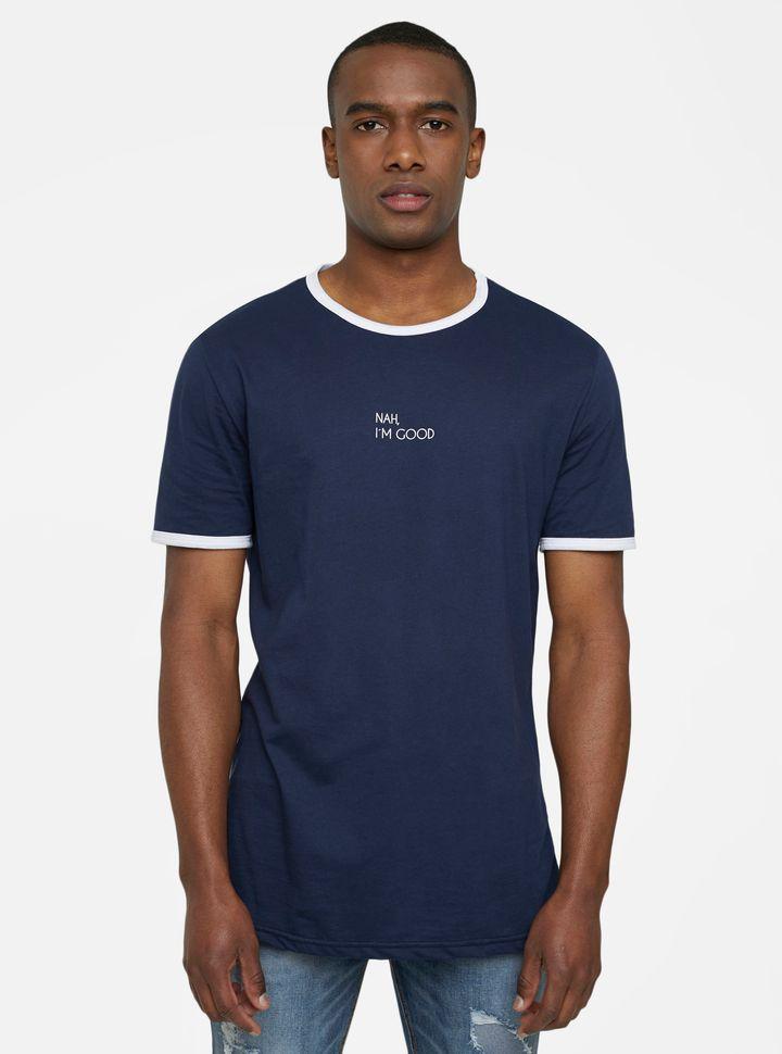 Camiseta Básica Estampado-XS