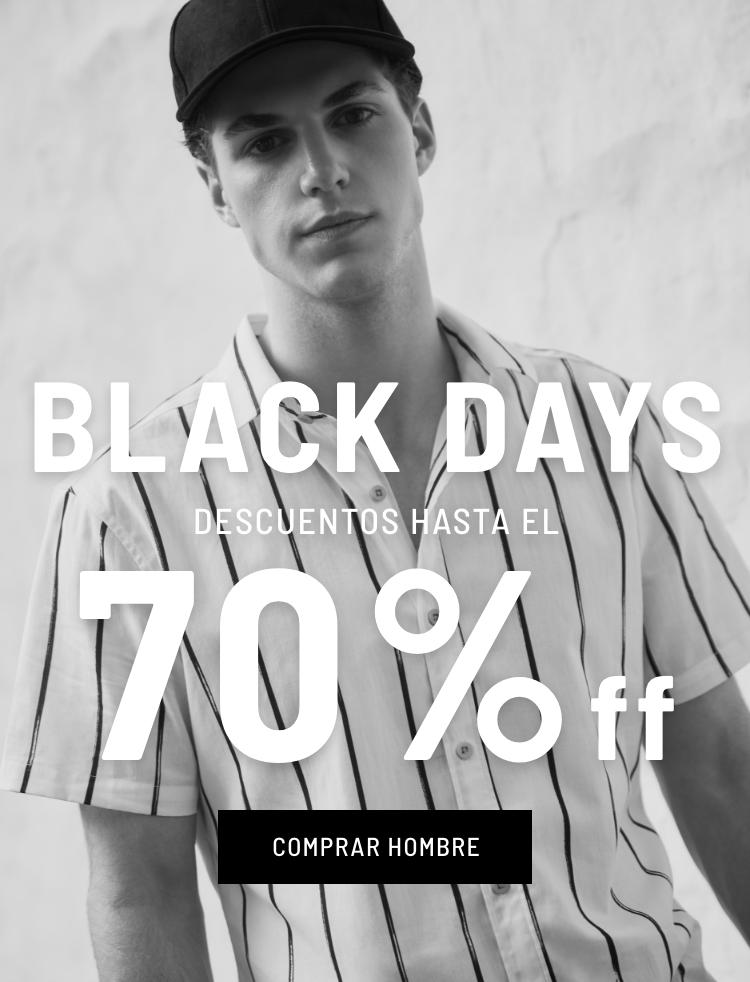 Banner General - BlackDays - Hombre Nov 2020 - (Mobile)