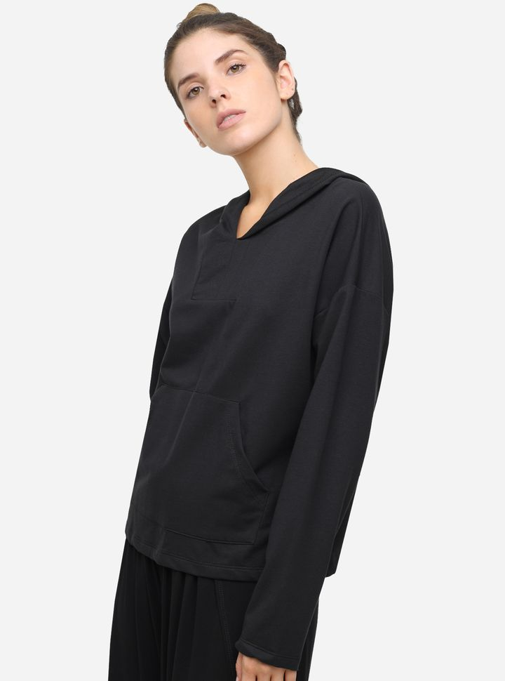 Hoodie Relax Unicolor-L