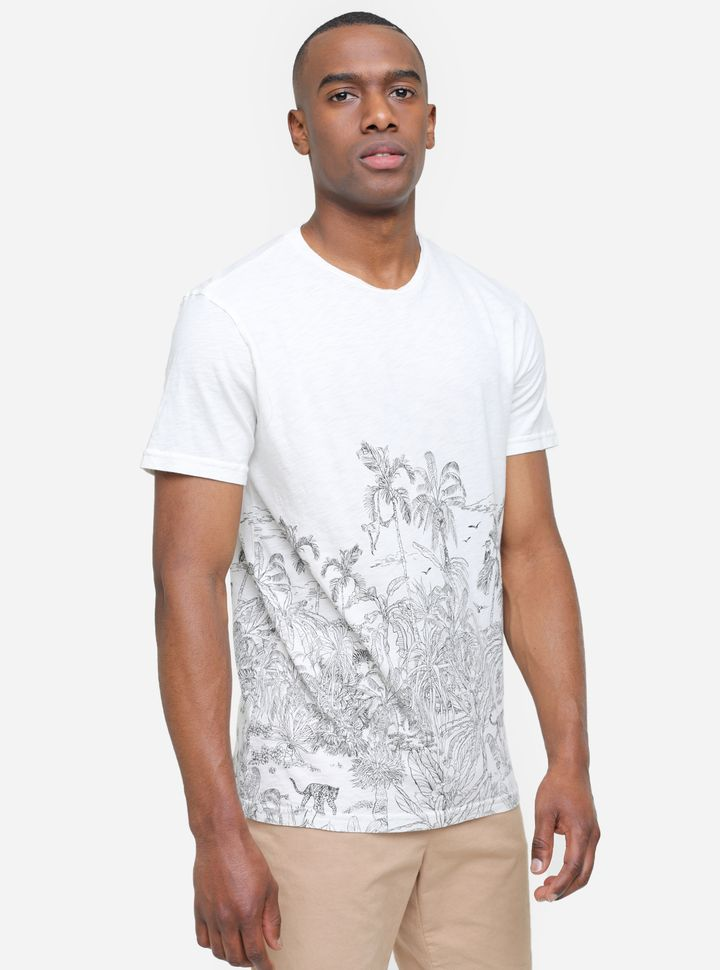 Camiseta Screen Paisaje-L