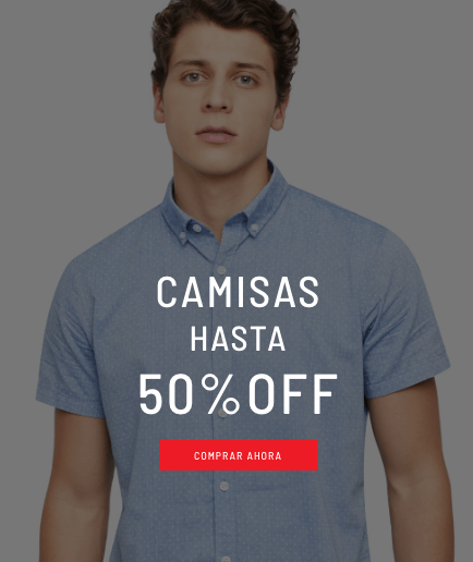 Banner Home - Sale Hombre - ENE2021 - Camisas (Desktop)