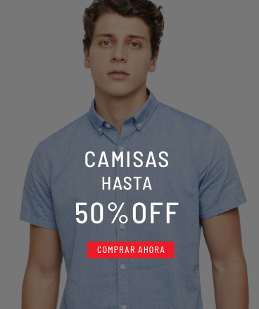 Banner Home - Sale Hombre - ENE2021 - Camisas (Mobile)