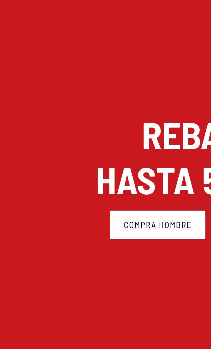 Banner General - Rebajas Hombre (Desktop)
