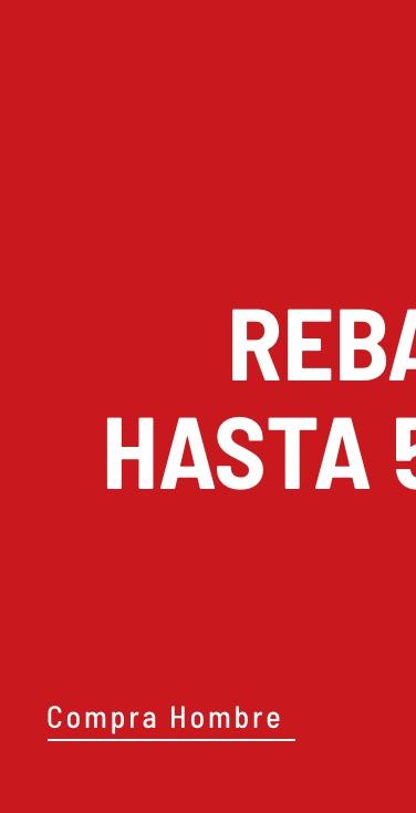 Banner General - Rebajas Hombre (Mobile)