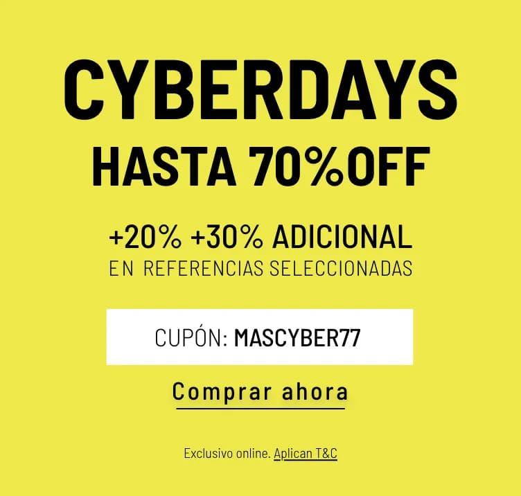 Banner Home - Mujer Cyberdays JUN2021 - Cyberdays Hasta 70% (Mobile)