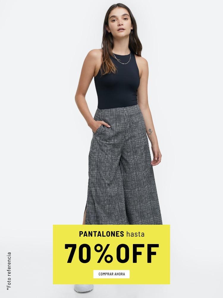 Banner Home - Mujer Cyberdays JUN2021 - Pantalones Hasta 70% (Mobile)