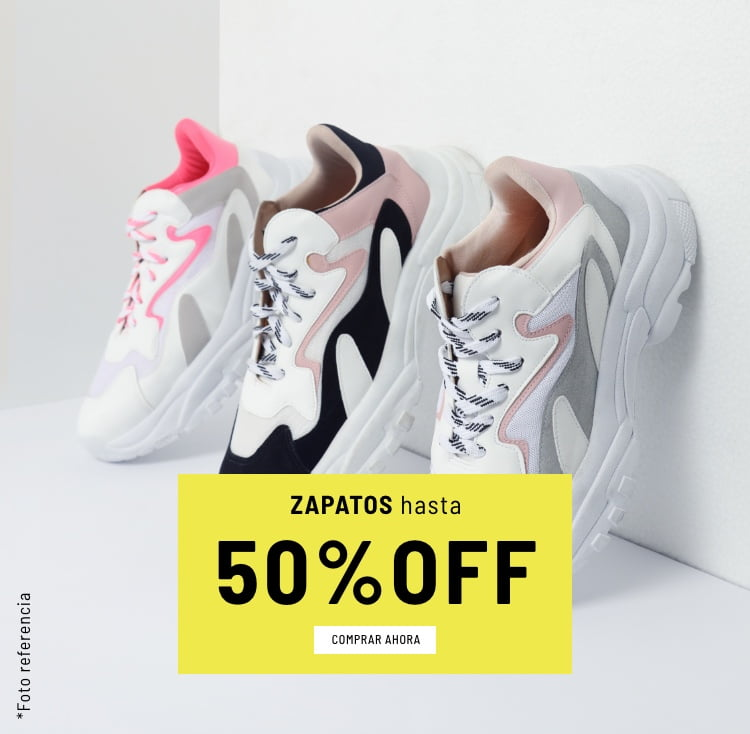 Banner Home - Mujer Cyberdays JUN2021 - Zapatos Hasta 50% (Mobile)