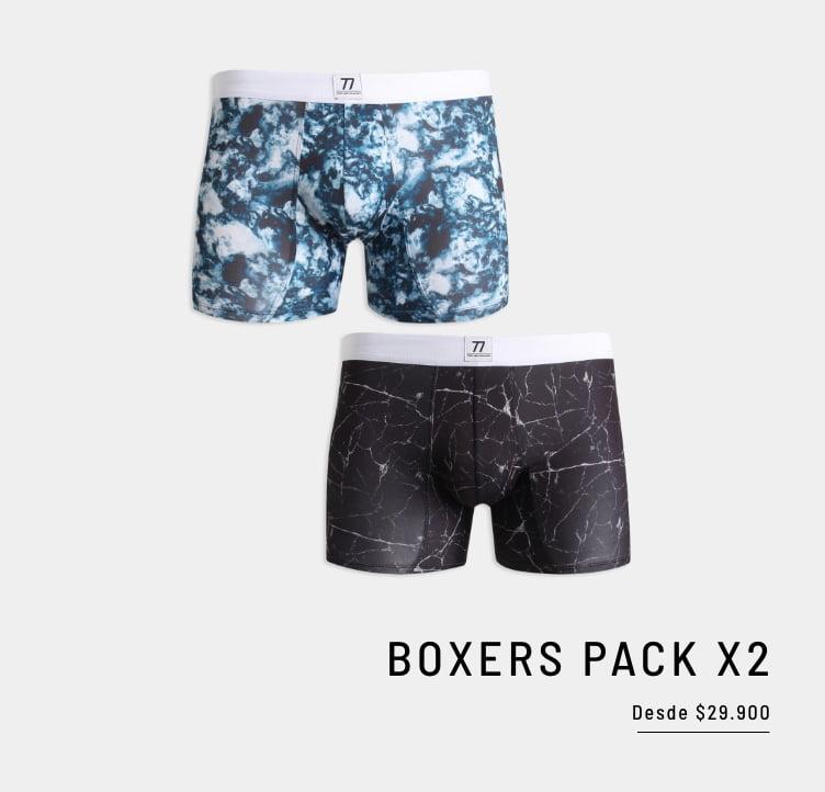 Banner Home - Hombre JUL2021 - Boxers Desde $29.900 (Mobile)