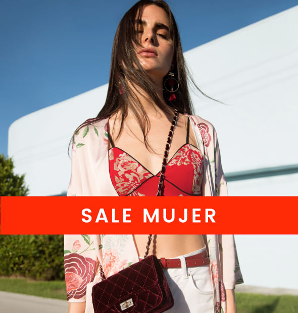 mujer sale